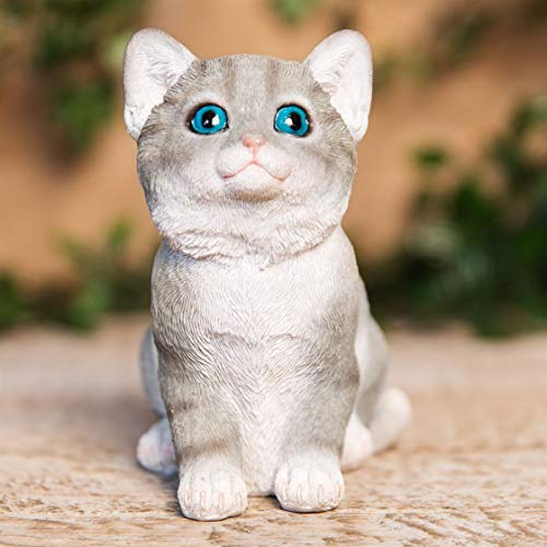 Best of Breed Collection - Gris et Blanc Chaton Figurine