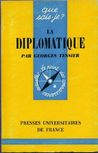 La diplomatique. par Tessier Georges
