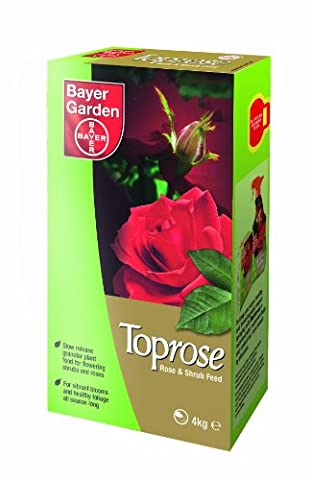 Bayer Garden Toprose Rose and Shrub Food, 4 kg