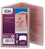 Elba Etui de protection 3 volets 75x110mm