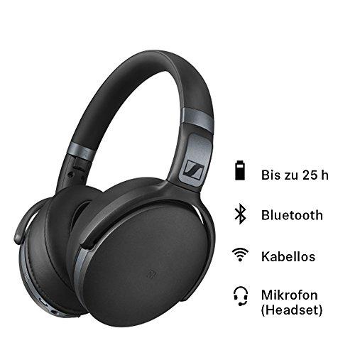 Sennheiser HD 4.40 BT kopfhörer (mit Kabellos geschlossen Bluetooth, Ohrumschließend) mattschwarz - 2