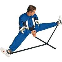 KWON 4094015 - Estructura para entrenar la flexibilidad en las piernas (metal), color negro