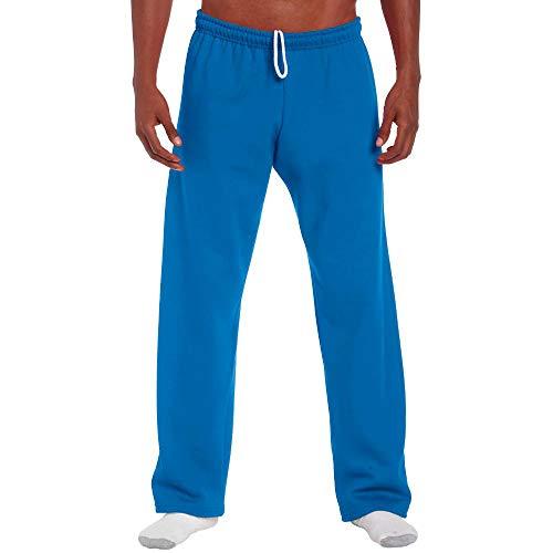 Gildan Jogginghose mit offenem Beinabschluss / Royal, 4XL -