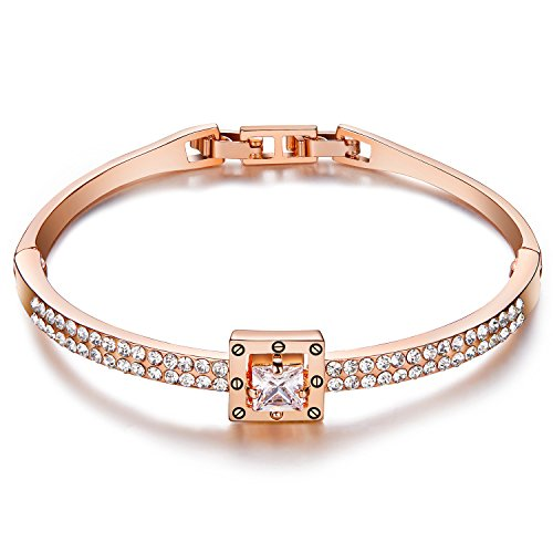 menton-ezil-princess-18k-rose-gold-plated-crystal-bangle-bracelet-for-women-gift-with-swarovski-elem