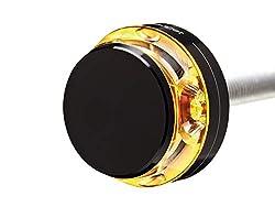 Motogadget Motorradblinker LED Lenkerendenblinker m-Blaze schwarz links