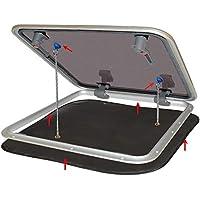 Water Line Diseño Popup de mosquitera para Deck Escotillas/dachluken 800x 800mm