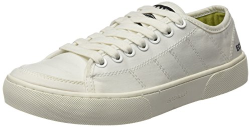 Ecoalf Arizona, Baskets Basses Mixte Adulte Blanc Cassé - WHITE (000)