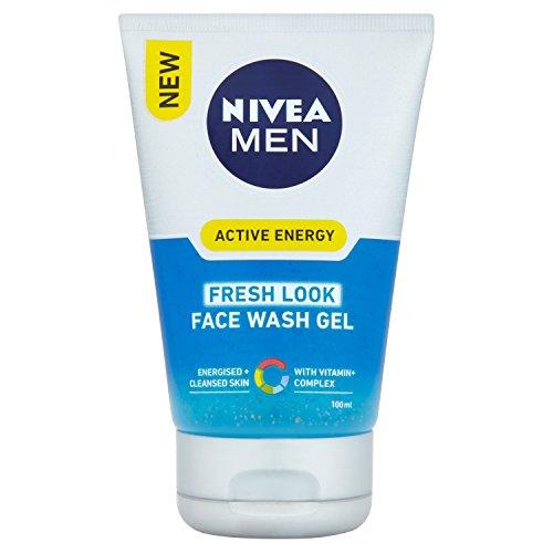 NIVEA MEN Q10 - Detergente viso rivitalizzante, 100 ml, 3 pz.