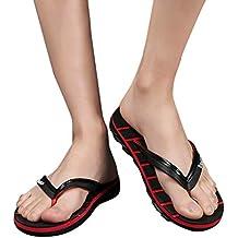Sandalias Mujeres Cebbay Moda Plano Talla Grande Bohemia Sandalias Casuales Zapatos de Playa Sandalias Romanas Chanclas