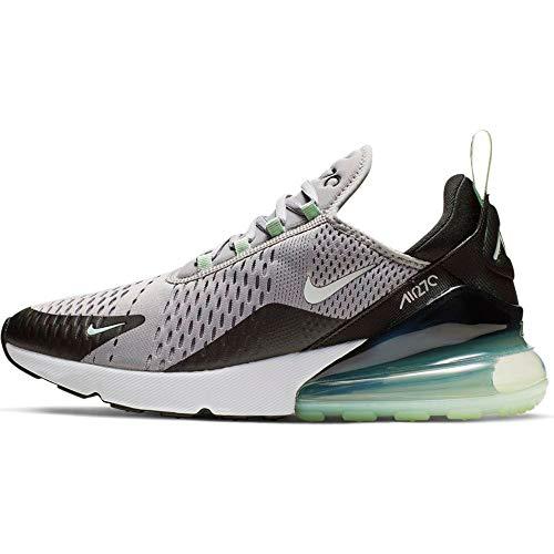 Nike Herren Air Max 270 Leichtathletikschuhe, Mehrfarbig (Atmosphere Grey/White/Fresh Mint/Black 1), 44.5 EU