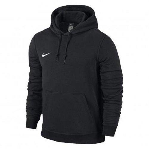 Nike Team Club - Felpa con cappuccio, Multicolore - Black/Football White, taglia XS (122-128)
