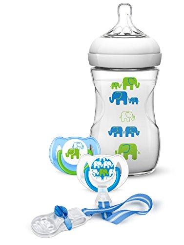 Preisvergleich Produktbild Philips Avent SCD627 / 01 Naturnah-Flaschen-Set,  blau