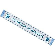 OLYMPIQUE DE MARSEILLE Echarpe Om - Collection Officielle Taille 140 cm a4b6187c8f4