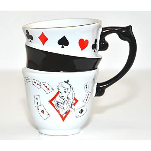 Alice au pays des merveilles Stacked Mug-Nouvelle Collection Disneyland Paris