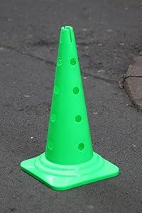 agility sport pour chiens - cône avec trous, 50 cm, vert - 1x MZK50g