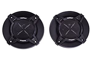 Woodman 4 Inch 1052 Coaxial Car Speaker (Black)
