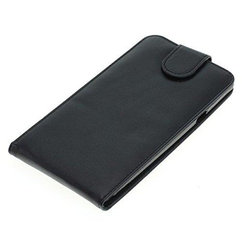 Handy Tasche Case Flip für Coolpad Modena 2 / Hülle Etui Handytasche Schutzhülle black