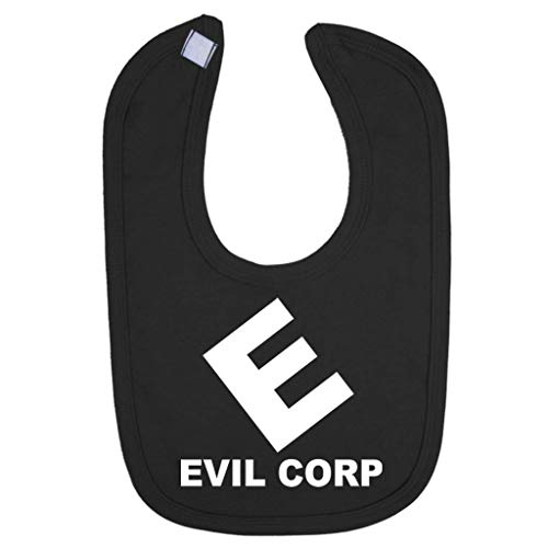 Evil Corp Logo Mr Robot Baby And Toddler Bib (Baby Robot Kostüm)