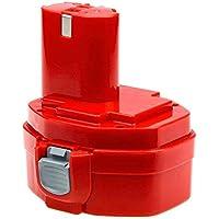Reemplazo Batería para Makita14.4V 3000mAh Ni-Mh para Makita PA14 1420 1422 1433 1434 1435 1435F 192699-A 192600-1 193985-8