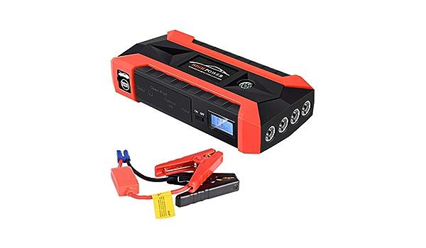 Dinglong Alimentation durgence de Secours Automobile 89800 mAh 12V LCD 4 USB Voiture Star Starter Pack Booster Chargeur Batterie Banque de Puissance