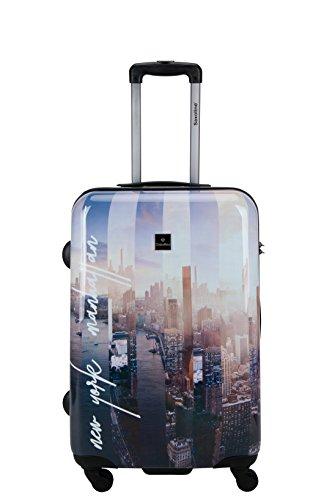 Saxoline Koffer Manhattan Hartschale Trolley Größe M 1387H0.60.09 (direkt vom Hersteller)