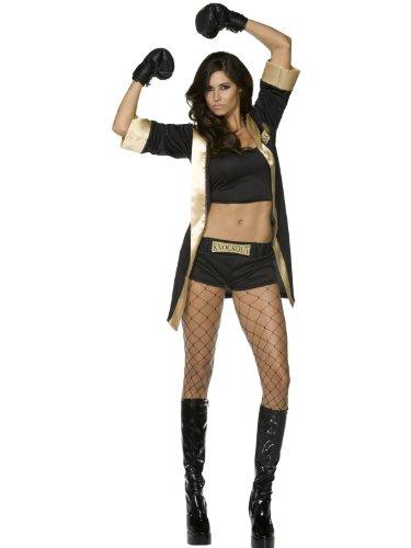 Generique - Sexy Boxerinnen-Kostüm für - Damen Boxer Fancy Dress Kostüm