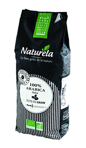 Naturèla pura arabica bio caffè in grani chicchi di caffè tostato 1kg