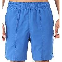 تي شيرت Speedo رجالي متين مقاس 48.26 سم لممارسة الرياضة والسباحة ، للبالغين ، أزرق كلاسيكي، مقاس L