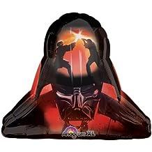 """Star Wars Darth Vader Helmut Supershape Boy Birthday Party 29"""" Balloon"""