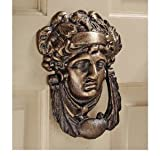 19th Century Replica Athena Authentic Foundry Iron Doorknocker by XoticBrands