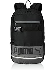 PUMA Deck Backpack - Mochila, color negro, talla 34 x 48.5 x 24 cm, 32 litros