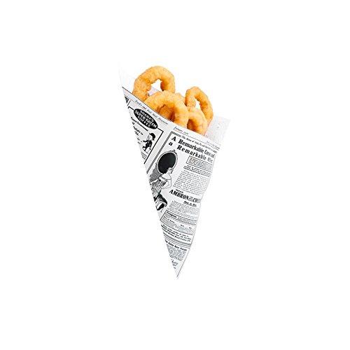 Garcia de Pou 2000Einheit Zapfen Mal Design 70gsm in Box, Papier, weiß, 30x 30x - Papier Zapfen Essen