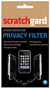 Scratchgard Privacy Filter Screen Protector for Sony-LT26i Xperia S