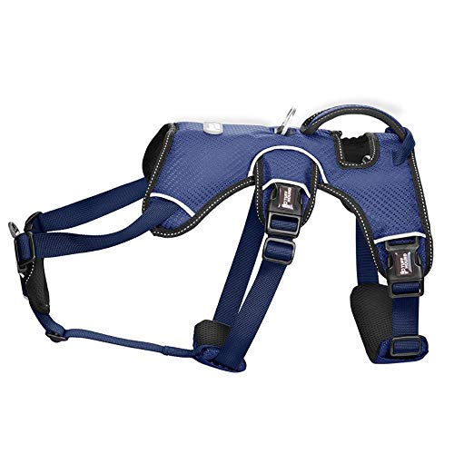 Xiyyou Hundebrustgurt Enthält Kein Abschleppseil Mittelgroßes Hundehalsband, 1, M(Büste45-62Cm)