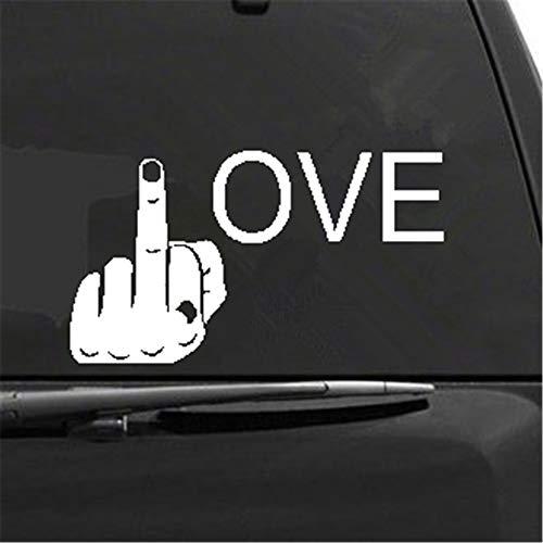 adesivo murale Car Decal #uck Love 7'x 3 3/4' Die Cut Decal per Windows Trucks Cars Occhiali per notebook. Tazze