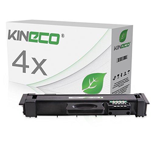 4 Toner kompatibel zu MLT-D116L MLTD116L für Samsung Xpress M2835DW/SEE, Xpress M2825ND/SEE, Samsung Xpress M2675FN/XEC, SL-M2625, SL-M2875 - MLT-D116L/ELS - Schwarz je 3.000 Seiten