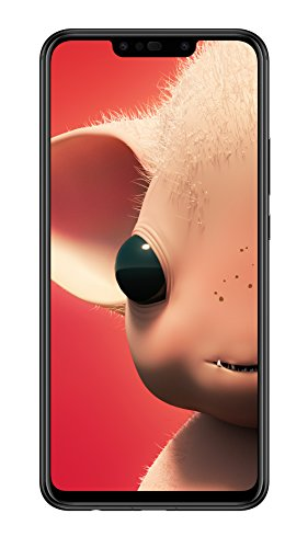 HUAWEI P Smart + Dual-Sim Smartphone BUNDLE (Display 16cm (6,3 Zoll), 64GB Speicher, 4GB RAM, Android 8.1) Black + gratis Intenso 16 GB Speicherkarte [Exklusiv bei Amazon] - Deutsche Version