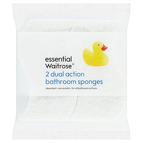 esponja-de-bano-de-doble-accion-esencial-waitrose-2-por-paquete