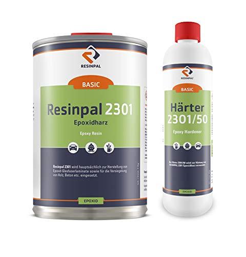 1 kg Epoxidharz Resinpal 2301 + 0,5 kg Härter | glasklares Epoxy | klares Resin |