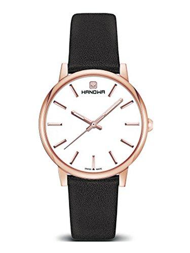 Swiss Military Hanowa Mujer Reloj Luna Acero inoxidable 16–4037.09.001
