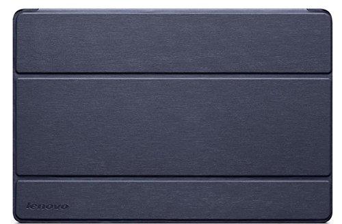 Levovo Ultra Slim PU Schützhülle für Lenovo A7-50 Tablet (7 Zoll) mit Standfunktion inkl. Bildschirmschutzfolie dunkel blau