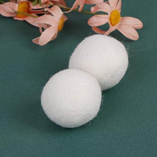 SSXCO 5 Teile/Paket Natürliche Organische Wäsche Wäsche Sauberen Ball Wiederverwendbare Weichspüler Ball Premium Organische Wolltrockner Bälle
