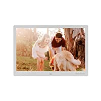 Honorall 15.4 Inch 1280 * 800 Resolution LED Digital Picture Photo Frame Photo Album 1080P HD Video Playing with 2.4G Wireless Remote Control Music Movie Clock Calendar E-Book Functions Gift