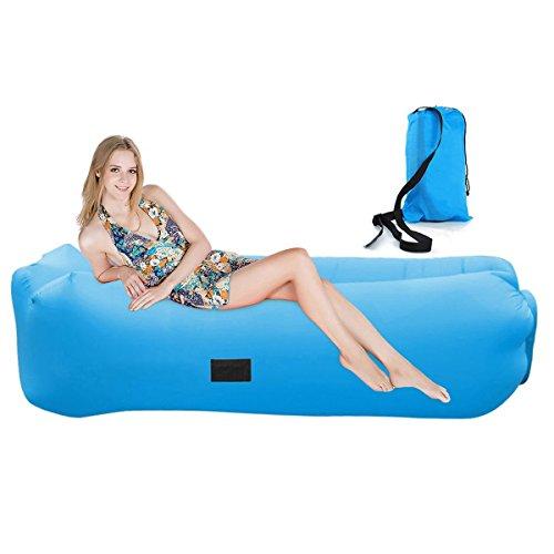 Professioneller Verkauf Air Lounger Wasserdichtes Aufblasbares Luftsofa Strand Campen Lazy Strand Sofa Schlafausrüstung Isomatten & Matratzen