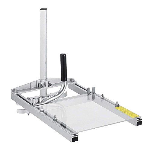 HUKOER Holz Werkzeug Tragbare Kettensäge Mühle Planking Frässtange Aluminiumlegierung Kettensägeblatt, einstellbare Tischlänge 14'-20' (20 Zoll)
