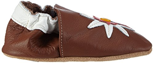 Hobea Germany HOBEAF12265 Chaussures Premiers pas Edelweiss Design Taille 26/27 Marron (braun)
