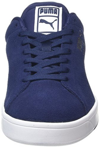 Puma Suede S, Sneakers basses homme Blue (Peacoat/White)
