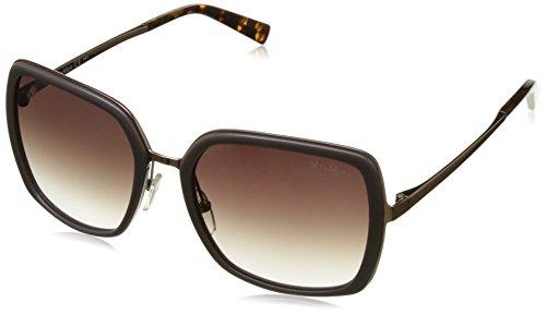 Max mara mm classy iii j8 mpo, occhiali da sole donna, oro (gd copper gry/mauve sf), 56