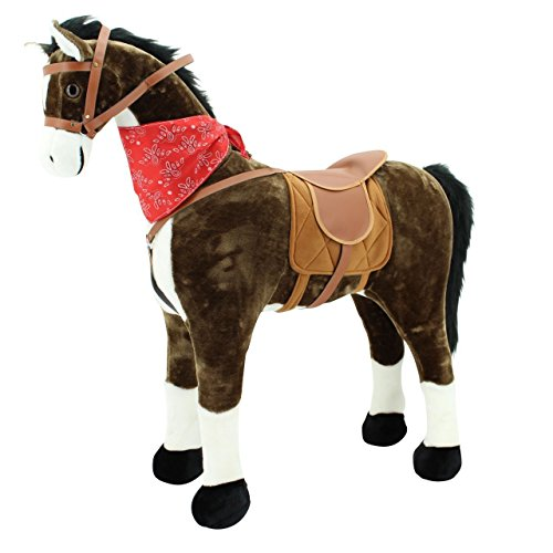sweety-toys-5048-plush-horse-xxl-chocolate-approx-110-cm-large-standing-horse-horse-head-height-up-t
