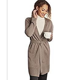Woolovers Womens Cashmere Merino Belted Robe 9bce54caa
